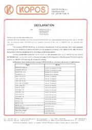 Statement of Properties