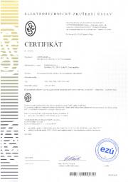Certifikát ESČ