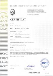 Certifikát EZÚ