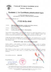 Certifikát na nebezpečí výbuchu
