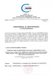 Protokol o certifikaci