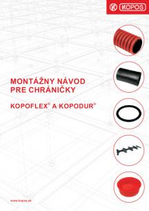 Montážny návod pre chráničky KOPOFLEX® a KOPODUR®