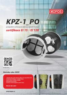 Protipožární přístrojová elektroinstalační krabice KPZ-1_PO