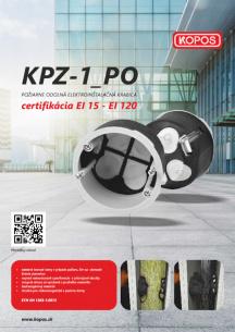 Požiarne odolná elektroinštalačná krabica KPZ-1_PO