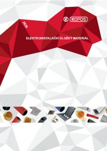 Elektroinstalační úložný materiál