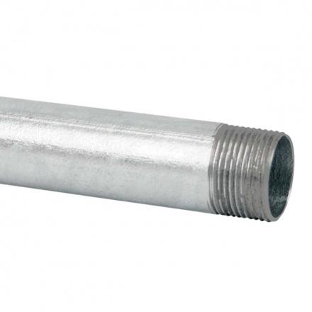 6016 N XX - ocelová trubka závitová bez povrchové úpravy (ČSN)