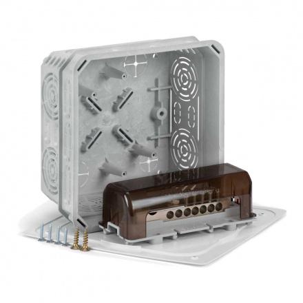 KO 125 E/EQ02 KA - krabice s víčkem V 125/1 a ekvipotenciální svorkovnicí