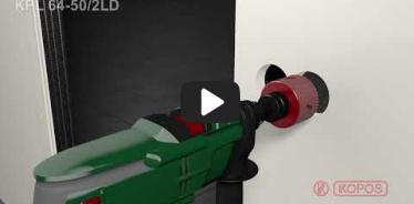 Embedded thumbnail for Montážní návod elektroinstalačních krabic do dutých stěn KPL 64-50/2LD
