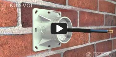 Embedded thumbnail for Montážny návod univerzálnej krabice KUZ-VOI do zateplenia s otváracím vekom