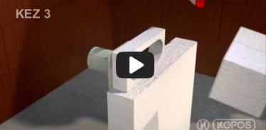 Embedded thumbnail for Montážny návod viacnásobnej elektroinštalačnej krabice do zateplenia KEZ-3