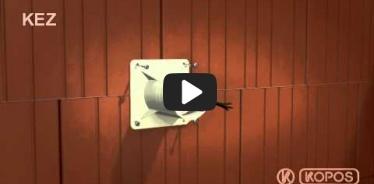 Embedded thumbnail for Montážny návod elektroinštalačnej krabice do zateplenia KEZ