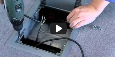 Embedded thumbnail for Montážny návod elektroinštalačnej krabice do betónových a zdvojených podláh KOPOBOX