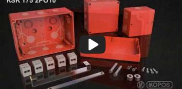 Embedded thumbnail for Montážny návod požiarne odolnej elektroinštalačnej krabice KSK 175 PO