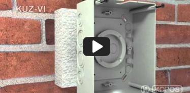 Embedded thumbnail for Montážny návod univerzálnej krabice KUZ-VI do zateplenia s pevným vekom