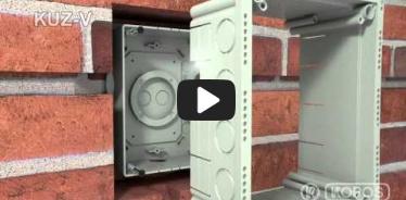 Embedded thumbnail for Montážny návod univerzálnej krabice KUZ-V s pevným vekom