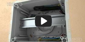 Embedded thumbnail for Montážny návod univerzálnej krabice KUZ-VO s otváracím vekom
