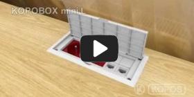 Embedded thumbnail for Montážny návod viacúčelovej elektroinštalačnej krabice KOPOBOX mini L